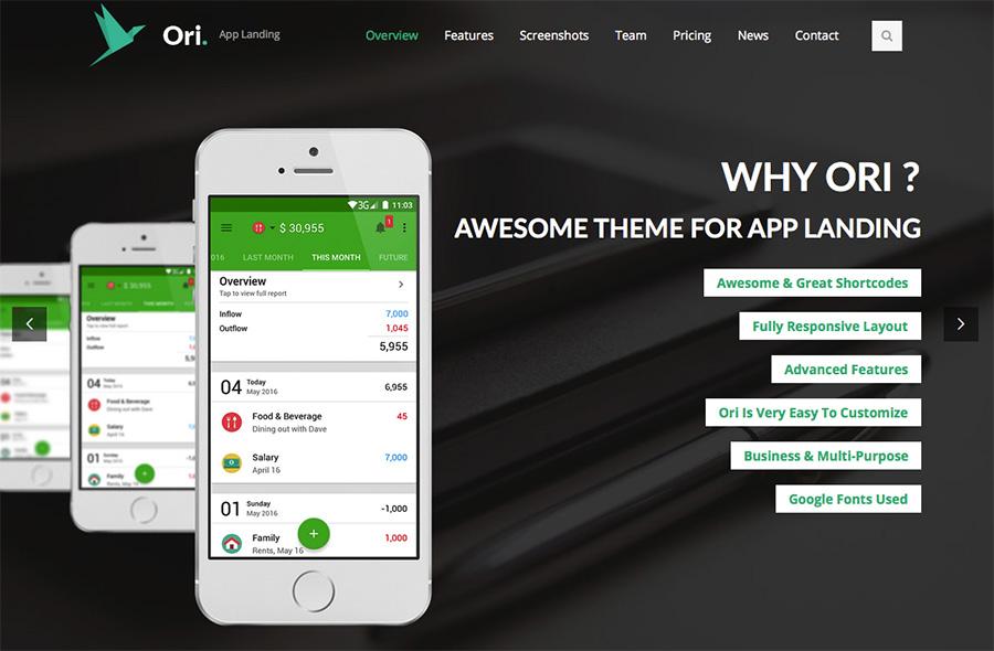 Demo Ori App